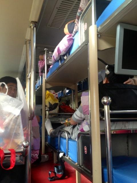 Bus couchettes