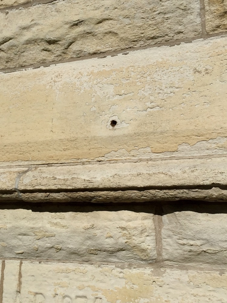 Holy Name Cathedral (impact de balles)