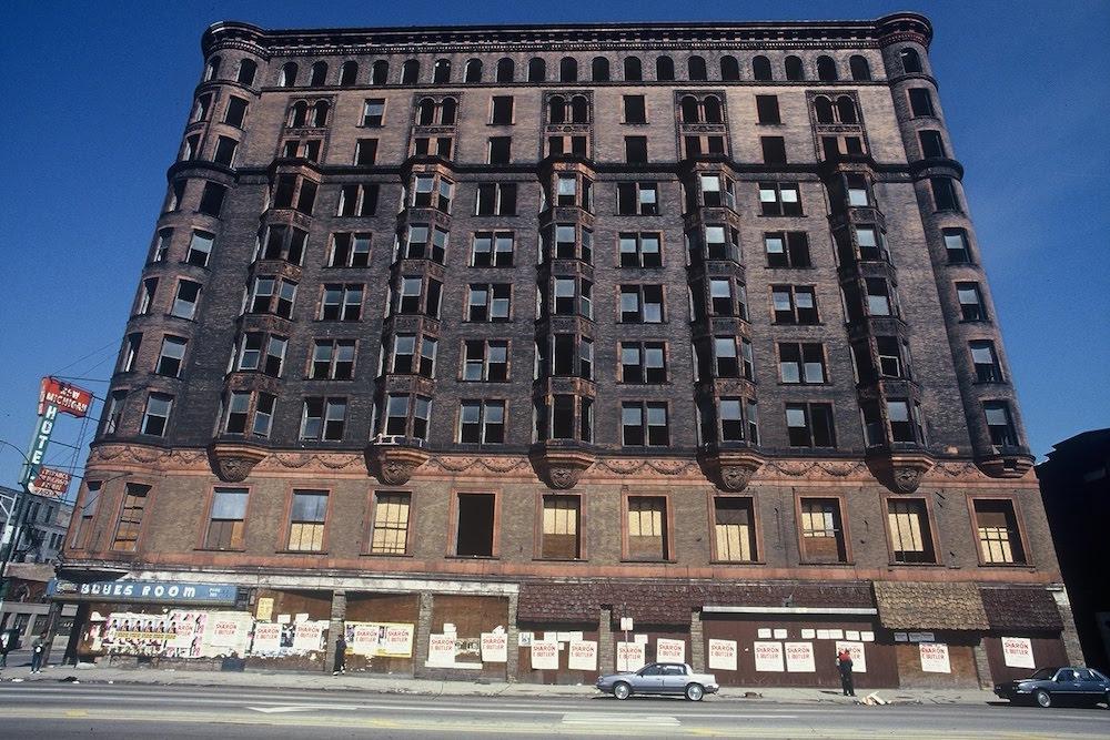 Hotel Lexington (démoli en 1995) - image internet